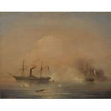 Sea battle 1855
