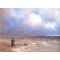 Sea coast 1840