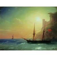 Sea coast 1861