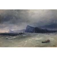 Sea rocks 1889
