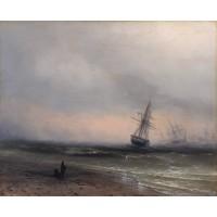 Seascape in crimea 1866