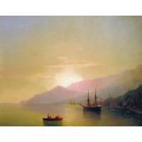 Ships at anchor 1851