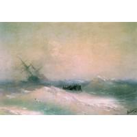 Storm at sea 1893