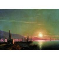 Sunrise in feodosia 1855