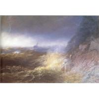 Tempest on the black sea 1875