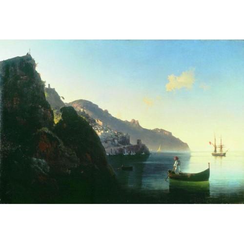 The coast at amalfi 1841