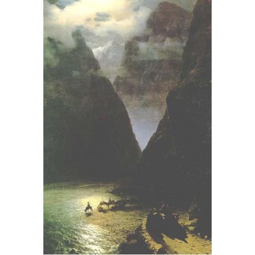The daryal canyon 1862