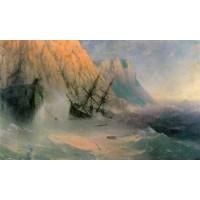 The shipwreck 1875