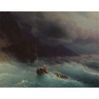 The shipwreck on black sea 1873