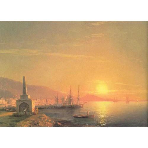 The sunrize in feodosiya 1855