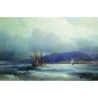 Trebizond from the sea 1856