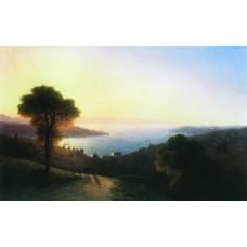 View of the bosporus 1874
