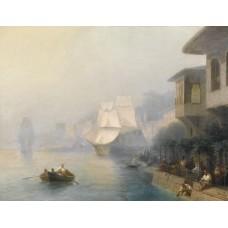 View of the bosporus 1878
