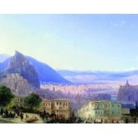 View of tiflis 1868