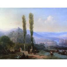 View of tiflis 1869