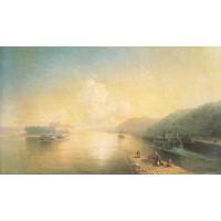 Volga near zhigulevskie hill 1887