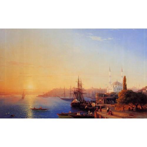 Panorama of Constantinopole