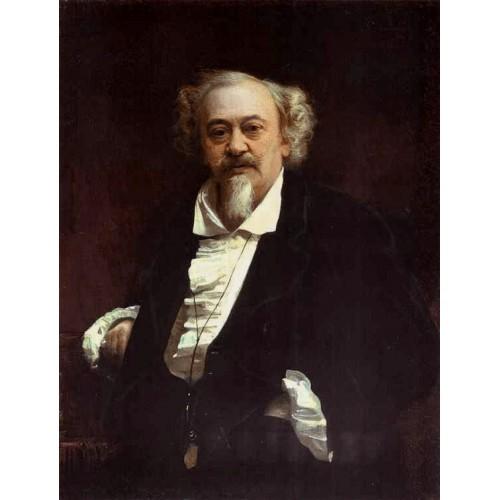 Portrait of the Actor Vasily Samoilov