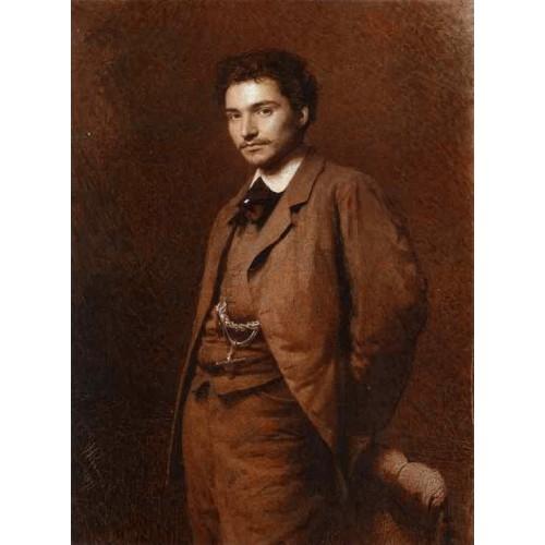 Portrait of the Artist Feodor Vasilyev