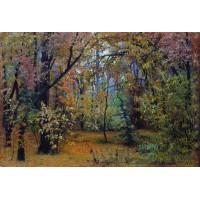 Autumn forest 1876