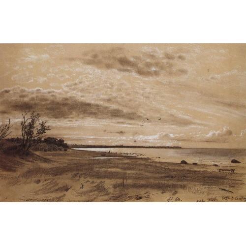 Beach mary howe 1889