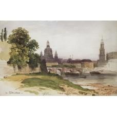 Dresden bridge of august 1862