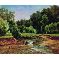 Forest landscape 1872