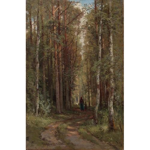 Forest landscape 1874