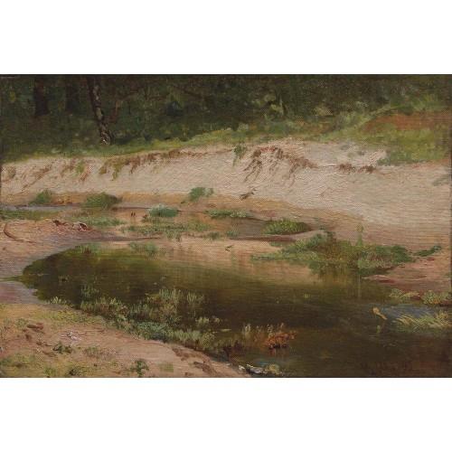 Forest stream 1895