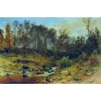 Forest stream 1896
