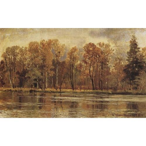 Golden autumn 1888