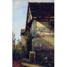 Little house in dusseldorf 1856