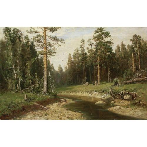 Mast tree forest 1891