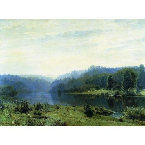 Misty morning 1885