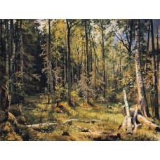Mixed forest shmetsk near narva 1888