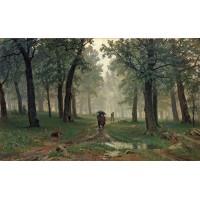 Rain in the oak forest 1891