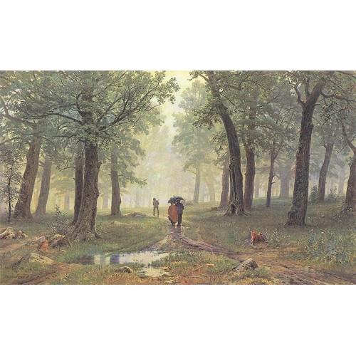 Rain in the oak grove 1891
