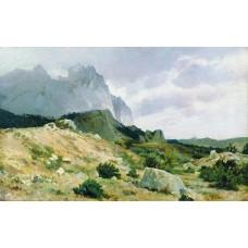 Rocky shore 1879