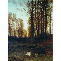 Twilight after sunset 1874