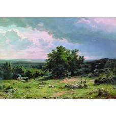 View near dusseldorf 1865