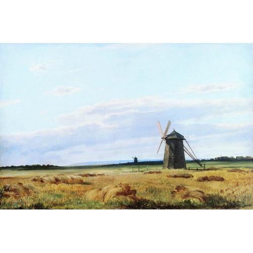 Windmill in the field 1861