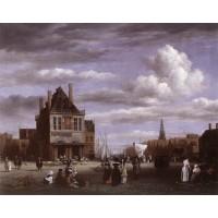 The Dam Square in Amsterdam