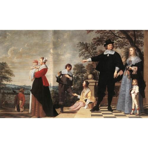 Portrait of a Bruges Family