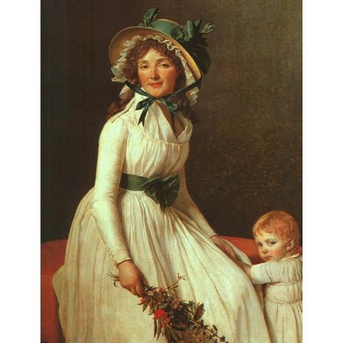 Portrait of Madame Seriziat