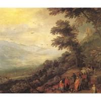 Gathering of Gypsies in the Wood