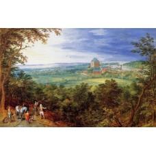 Landscape with the Chateau de Mariemont