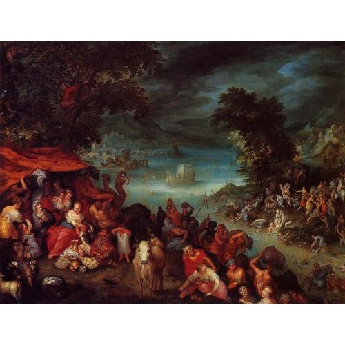 The Flood with Noah's Ark
