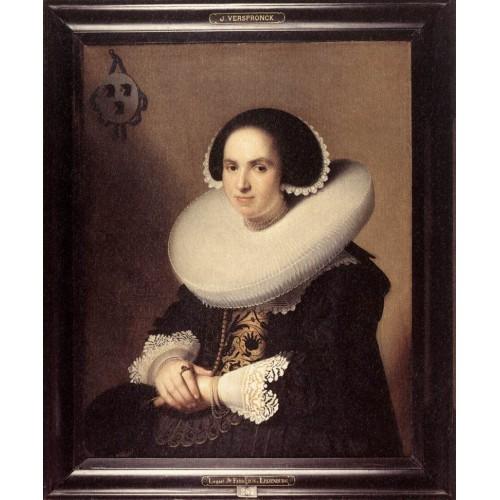 Portrait of Willemina van Braeckel