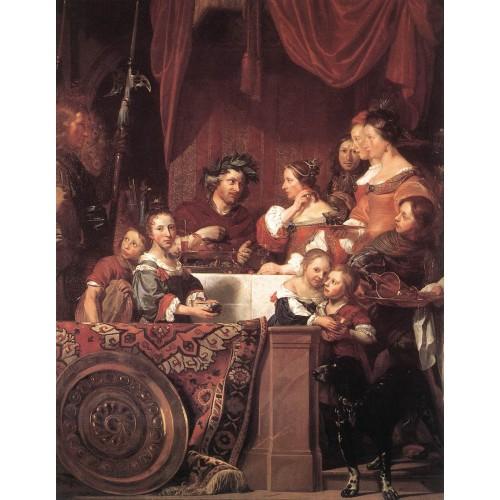 The de Bray Family (The Banquet of Antony and Cleopatra)