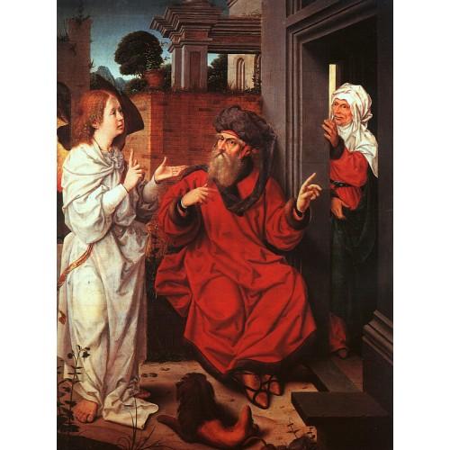 Abraham Sarah and the Angel